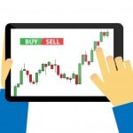 Tablet-forex-candlestick