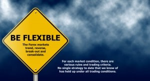 Trading rule - be flexible