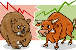 bulls and bear, usd choppy