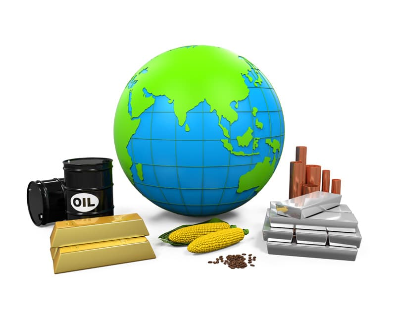 Forex commodity prices