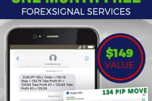 Email and sms signals and trade copier - $149 value for the service.